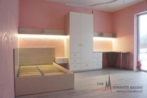 Vaikų kamabario baldai 3