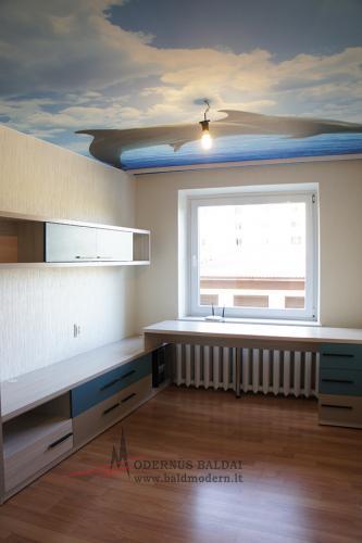 Vaikų kambario baldai 10