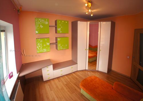 Vaikų kambario baldai 14